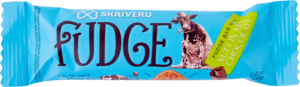 Fudge bar with nuts in milk chocolate 35g